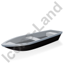 Boat Black Icon