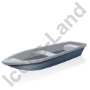 Boat Grey Icon