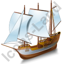 Schooner Grey Icon