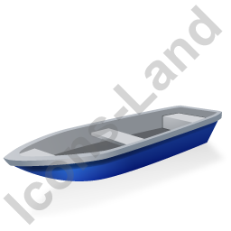 Boat Blue Icon