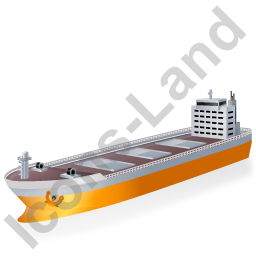 Bulk Carrier Yellow Icon