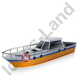 Rescue Lifeboat Yellow Icon, PNG/ICO, 256x256