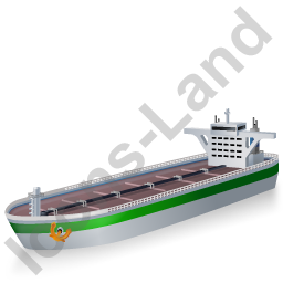 Tanker Green Icon