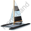 Catamaran Black Icon