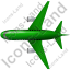 Airliner Top Green Icon