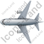 Airliner Top Grey Icon
