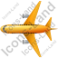 Airliner Top Yellow Icon