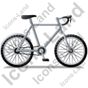 Bicycle Right Grey Icon