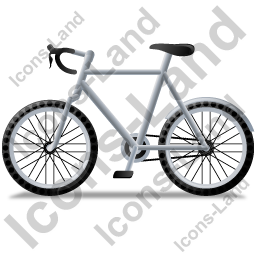 Bicycle Left Grey Icon