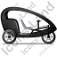 Pedicab Right Black Icon, PNG/ICO, 64x64