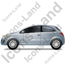 Hatchback Left Grey Icon