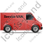 Service Van Right Red Icon, PNG/ICO, 48x48