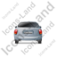 Car Back Grey Icon