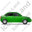 Car Right Green Icon