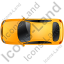 Executive Car Top Yellow Icon