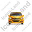 Hatchback Front Yellow Icon