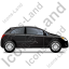 Hatchback Right Black Icon, PNG/ICO, 64x64