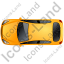 Hatchback Top Yellow Icon