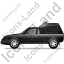 Roadside Assistance Car Left Black Icon, PNG/ICO, 64x64