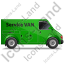 Service Van Right Green Icon