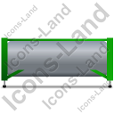 Swap Tank Container Left Green Icon, PNG/ICO, 128x128