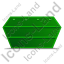 Skip Left Green Icon