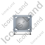 Swap Tank Container Front Grey Icon, PNG/ICO, 64x64