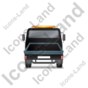 Recovery Truck Back Black Icon, PNG/ICO, 128x128