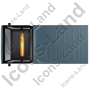 Recovery Truck Top Black Icon, PNG/ICO, 128x128