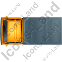 Recovery Truck Top Yellow Icon, PNG/ICO, 128x128