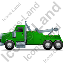 Tow Rig Left Green Icon