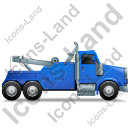 Tow Rig Right Blue Icon