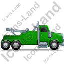 Tow Rig Right Green Icon