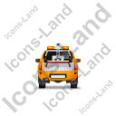 Tow Truck Back Yellow Icon, PNG/ICO, 128x128