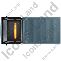 Recovery Truck Top Black Icon, PNG/ICO, 256x256