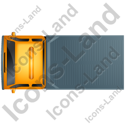 Recovery Truck Top Yellow Icon, PNG/ICO, 256x256