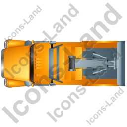 Tow Rig Top Yellow Icon, PNG/ICO, 256x256