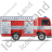 Fire Truck Right Grey Icon