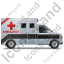 Ambulance Right Black Icon