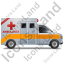 Ambulance Right Yellow Icon