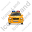 Police Front Yellow Icon, PNG/ICO, 64x64