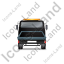 Recovery Truck Back Black Icon, PNG/ICO, 64x64