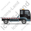 Recovery Truck Right Black Icon, PNG/ICO, 64x64