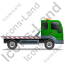 Recovery Truck Right Green Icon