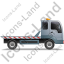 Recovery Truck Right Grey Icon