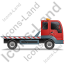 Recovery Truck Right Red Icon