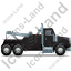 Tow Rig Right Black Icon, PNG/ICO, 64x64