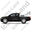 Tow Truck Left Black Icon, PNG/ICO, 64x64