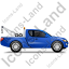 Tow Truck Right Blue Icon