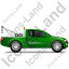 Tow Truck Right Green Icon
